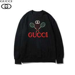 GG 19 sudadera con capucha con bordado de letras de diseño de marca francesa para hombres, ropa deportiva de hip hop, otoño e invierno, sudadera con capucha informal para hombres S-3XL en venta