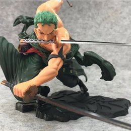 one piece new figures Australia - 18cm Anime Straw Hat Pirate One Piece Roronoa Zoro SA-MAXIMUM Ver. PVC Action Figure Children's Collection Model Toys