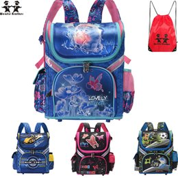 $enCountryForm.capitalKeyWord Australia - wenjie brother new Kids cat butterfly School bag Backpack EVA Folded Orthopedic Children boy and girls backpack Mochila Infantil