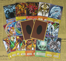 Discount yu gi oh cards - 20pcs Yu-Gi-Oh! Anime Style Cards Dark Magician Exodia Obelisk Slifer Ra Yugioh DM Classic Orica Proxy Card Childhood Me