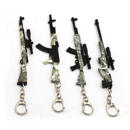 $enCountryForm.capitalKeyWord Australia - 2019 Hot Game Gun Model 98K AWM Camouflage Keychain 12cm PUBG Key Chain Portachiavi Porte Clef Men Jewelry Souveni