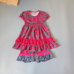 $enCountryForm.capitalKeyWord Australia - Grey, rose red,lotus girls dress Outfits Infants and Children dresses soft Ruffle flower frocks for kids kids boutique clothing