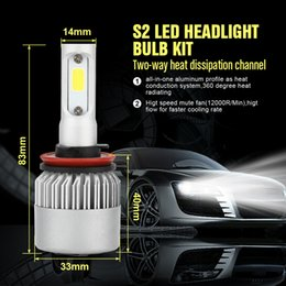 Cree headlights h4 online shopping - CROSSLEOPARD Car LED Headlight with Sides Lights LM Cree Lamp H1 H3 H4 H7 H11 H13 H27 HB3 HB4 HB5
