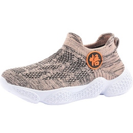 Spring hookS for children online shopping - Children Socks Shoes Comfortable Kids Sneakers Boys Tenis Chaussure Enfant Knitted Outdoor Walking Sport Footwear For Girls Blue