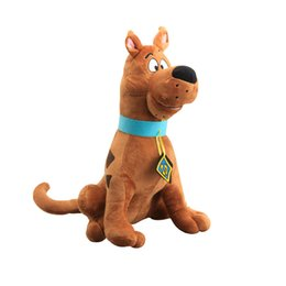 """scooby toy 2019 - Hot Sale 13"""" 33cm Scooby Doo Dog Plush Toys Stuffed Animals Toy For Baby Gifts Wholesale cheap scooby toy"""