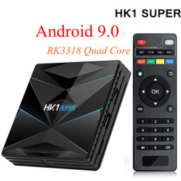 $enCountryForm.capitalKeyWord Australia - HK1 Super 4GB 32GB RK3318 TV Box Android 9.0 Quad Core Smart Mini PC Dual Band Wifi Bluetooth 2G 16G 4G 32G 4K Streaming Media Player