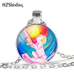 Faith Hope Love Pendants Australia - 2019 New Faith Hope Love Necklace Quote Pendant Religious Silver Jewelry Hand Craft Glass Dome Necklaces HZ1