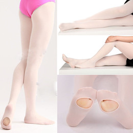 ef7c8dcf5bf43 S M L Convertible Tights Slim Dance Stocking Tights Ballet Pantyhose for  Kids & Adults