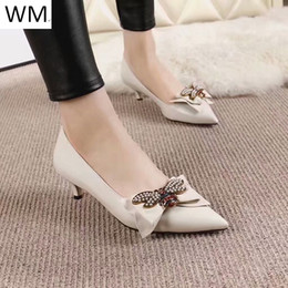 chinese sandals Australia - Duping520 New Spring And Summer Designer White Bow High Heels Women High Heels Sandals Slippers Mules Slides Pumps Shoes Sneakers Dress