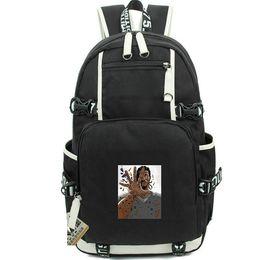 Wholesale hot boy cosplay online – ideas Cosplay backpack Kawhi Leonard Thanos day pack Hot player school bag Basketball packsack Computer rucksack Sport schoolbag Outdoor daypack