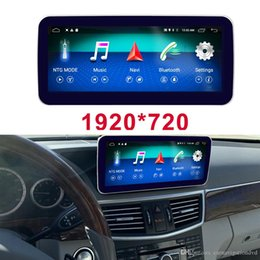 mercedes benz car radio Canada - 10.25 4G+64G Car Radio GPS Navigation Bluetooth Head Unit Screen for Mercedes Benz E-Class 2009-2016 E200 E250 E300 E350 E400 E500