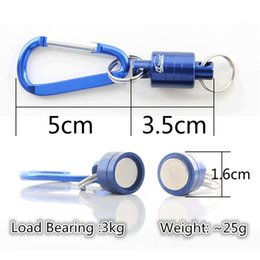 Gear For Fishing Australia - iLure Strong Train Release Magnetic Net Gear Release Lanyard cable Pull 4KG For Fly fishing tackle accessory tool Pesca