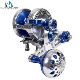 $enCountryForm.capitalKeyWord Australia - Fishing s Maximumcatch Aluminum CNC Machined Trolling Reel Left Right Hand Jigging Reel Max Drag 10kg-19.5kg Fishing Reel