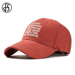 FS Yellow Streetwear Hip Hop Man Truck Dad Hats Cotton Letter Embroidery  Korean Hat Funny Cap Women Men Cappello Baseball Caps eccfc07d3b9a