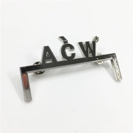 LapeL pins for online shopping - Acw a cold wall Letters Brooch Pin Designer Suit Lapel Pin for Women Girls Sport Accessories