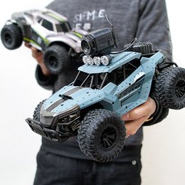 Discount electric camera car - Electric RC Car Rock Crawler Remote Control Toy Cars On The Radio with Camera Controlled Drive Off-Road Toys For Boys Ki