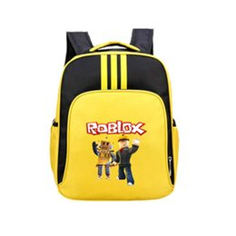 Kids Books Characters Australia - 42*29*13cm Game Roblox Character Bags Oxford C Casual Backpacks Bags Book Rucksacks Action Figure Toys Kids Birthday Gifts