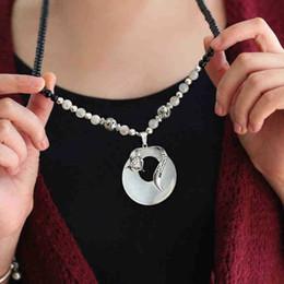 $enCountryForm.capitalKeyWord Australia - 20 pieces per lot Fox shaped pendant necklace beads necklaces with fox shaped pendant wholesale fashionable african pendant necklace