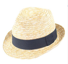 7ae730b7c9a74 2019 New Women Men Natural Brim Raffia Straw Sun Hats Women Plain Beach  Summer Panama Sun Caps