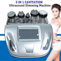 UltrasoUnd machines online shopping - 2019 Best portable Ultrasound cavitation machine cavitation radio frequency tripolar rf skin machine fast body slimming