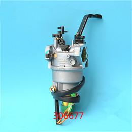 Carb Carburetor Honda Australia - Carburetor w  solenoid manual choke for Honda GX390 188F 5 KW genset carb 6.5kw generator carburettor replacement