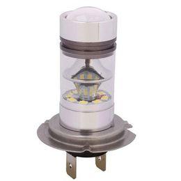 Ingrosso 2PCS H4 100W 20SMD ha condotto la luce bianca 6000K che guida la lampadina della lampada antinebbia di DRL 12V H7