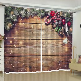 $enCountryForm.capitalKeyWord Australia - Christmas Curtains Blackout Custom Window Drapes for Bedroom Living Room Kitchen Office Party Backdrop Fabric Home Decorations