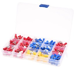 Insulated termInals online shopping - 280x Terminals Electrical Connectors flat insulated crimp crimping Assortment