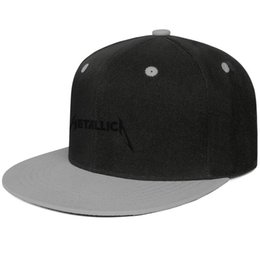 $enCountryForm.capitalKeyWord UK - Rock band Metallica logo Snapback Trucker Cap Funny Cotton Caps Relaxed Unisex Mens Women's Hat