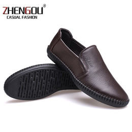 $enCountryForm.capitalKeyWord Australia - Men Soft Comfortable Dress Sewing 8503 Mens Genuine Leather Shoes Casual Zapatos Hombre Loafers Italian Brand Trainers