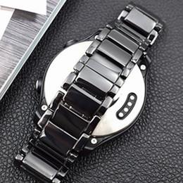 Watches Ceramic Wrist Bands NZ - 100% Full Ceramic 20-22mm Watch Band Straps For Huawei Watch 2 Wrist Bracelet For Samsung Gear S3 S2 Gear Sport Watchbands Blet