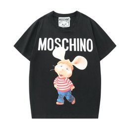Wholesale women c shirt online – design 2020 Summer men s and women s classic T shirt short sleeves pure cotton trend style loose t shirts C