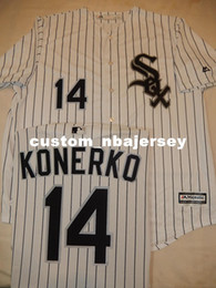 cheap cool base jerseys UK - Cheap custom PAUL KONERKO Baseball Cool Base JERSEY Stitched Customize any name number MEN WOMEN BASEBALL JERSEY XS-5XL