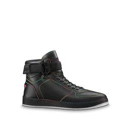 Роскошные популярные горячие фирменные мужские кожаные кроссовки модные мужские спортивные ботинки езда сапоги цвет смешивания высокое качество бесплатная доставка