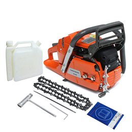 Discount chain blade - 3.4KW 18 Inch Blade Professional Wood Cutter Chain Saw Heavy Duty Gasoline Chainsaw HUS365 65CC