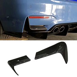 $enCountryForm.capitalKeyWord Australia - Carbon fiber Rear Bumper Lip Spoiler Decorative parts For BMW F80 M3 F82 M4