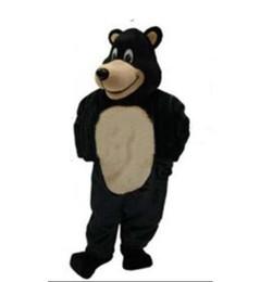 $enCountryForm.capitalKeyWord UK - High quality Adult size black bear Mascot Costume mascot halloween costume christmas Crazy Sale
