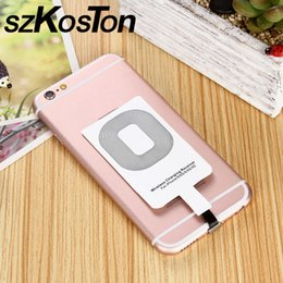 Phone Pads online shopping - QI Wireless Charger Receiver Charging Adapter Pad Coil For iPhone s Wireless Charger for Andriod Type C Xiaomi Phone