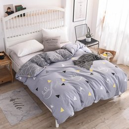 queen good duvet cover Australia - Good Quality 1 Pcs Bedding Set 100% Cotton Duvet Cover Quilt Cover Comfortable Home Textile Twin Full Queen King Size