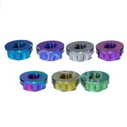 $enCountryForm.capitalKeyWord Australia - 2pcs Ti Axle Nut M8 Multicolor Titanium Torx Flange Nut and Ti Color Hexagon Titanium Screw Nuts Ti Fastener