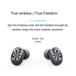 sound black Canada - 8D Stereo Sound Earphone Wireless Bluetooth 5.0 In-Ear Waterproof Sweatproof Earbuds LED Display Auto Pairing Headset With Mic