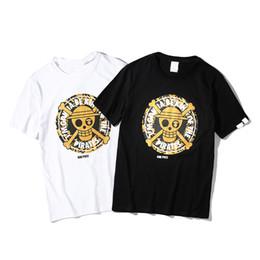 c86cf1c73 Fashion Designer T Shirts For Mens Tshirt With Skull Letters Print Branded  Short Sleeve Luxury Tee Shirt Summer Men Tops Clothing M-2XL