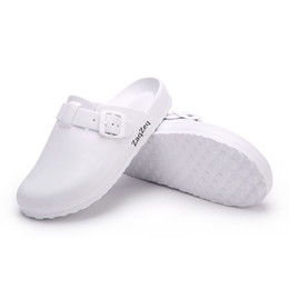 $enCountryForm.capitalKeyWord Australia - Women Casual Slippers Medical Doctors Nurses Surgical Shoes Work Flat Slippers Operating Room Lab Slippers Ladies Fashion Shoes