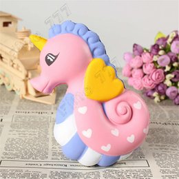 $enCountryForm.capitalKeyWord UK - New Fashion Squishy Cute Sea Horse Scented Cream Slow Rising Squeeze Decompression Toys With High Quality Hot Sale For Kid