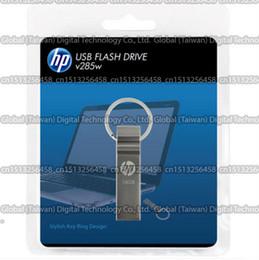 $enCountryForm.capitalKeyWord Australia - 16GB 32GB 64GB 128GB 256GB Original HP v285w USB flash drive USB pendrive high quality USB 2.0 memory stick