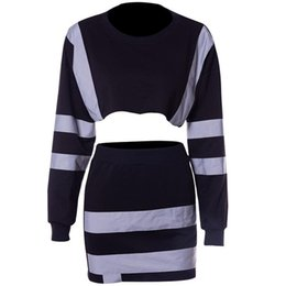 China Reflective 2 Two Piece Set Autumn Winter Outfits Long SleeveTops+Bodycon Dress Sexy Matching Sets Hip Hop Club Festival Outfit cheap festival dresses short suppliers