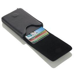 Black Blocks Australia - 2019 NEW PU Leather Credit Aluminium Business Card Holder Antitheft Travel Card Wallet Blocking Rfid Case