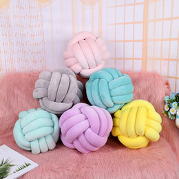 $enCountryForm.capitalKeyWord Australia - 28cm Pillow Cushion Knot Nursery Scandinavian Home Nordic Kids Room Decor Q190429