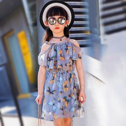 $enCountryForm.capitalKeyWord NZ - big girls chiffon summer dress 2019 teenagers dress little girls dresses kids girl clothes size for 3 4 5 6 7 8 9 10 11 12