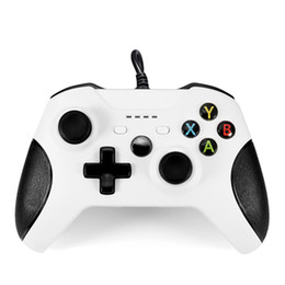 Discount usb joystick controller for pc USB Wired Controller Controle For Microsoft Xbox One Controller Gamepad For Xbox One Slim PC Windows Mando For Xbox one